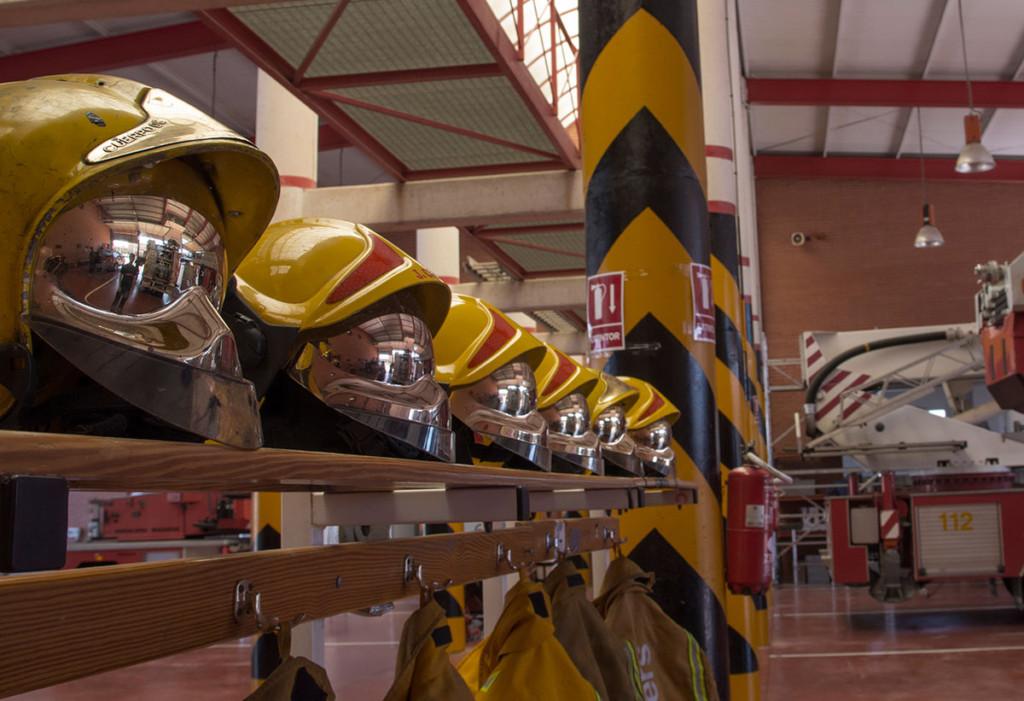 material de bomberos